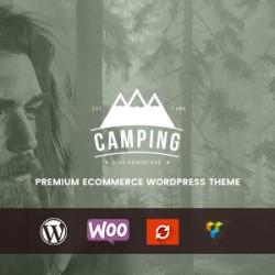Camping – Responsive WooCommerce WordPress Theme (WooCommerce)