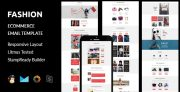 Fashion – Ecommerce Responsive Email Template + Stampready Builder (Email Templates)