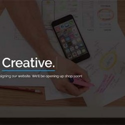 Alpha – Responsive Coming Soon Template (Under Construction)
