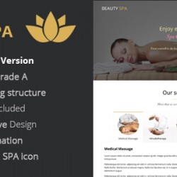 Beauty SPA – Conversion Landing Page (Health & Beauty)