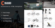 Rideo – Mountain Biking eCommerce Template (Shopping)