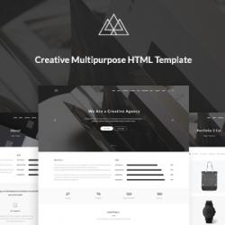 Atlantida – Creative Multipurpose HTML5 Template (Corporate)