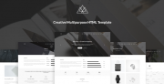 Atlantida – Creative Multipurpose HTML5 Template (Corporate)