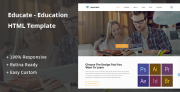 Educate – Education HTML Template (Corporate)