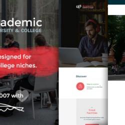 Academic – University & College PSD Template (Corporate)