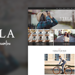 Stella – Personal Blog Template (Personal)