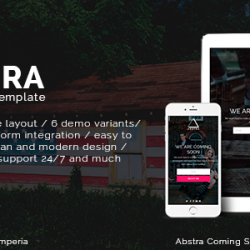 Abstra – Responsive Coming Soon (Under Construction)